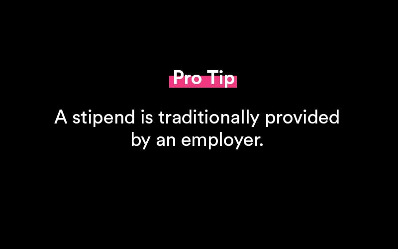 what is a stipend