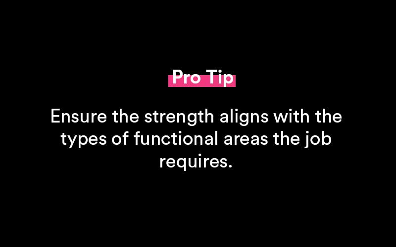 pro tip about a greatest strength